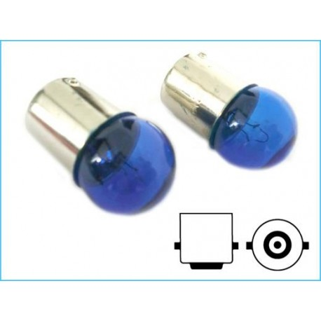 Lampada Alogena G18 BA15S R10W 12V 10W Luci Posizione