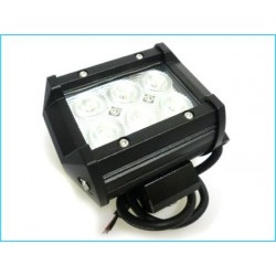 Barra Led Alluminio 18w Fuoristrada Jeep Camper 12V 24V Led Wall Washer