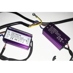 Led Driver CC 300mA 24V-44VDC (8-12)X1W Corrente Costante IP65