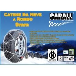 Catene Da Neve a Rombo  Auto 9mm CARALL
