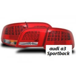 Fanali posteriori LED Audi A3 Sportback (8PA)