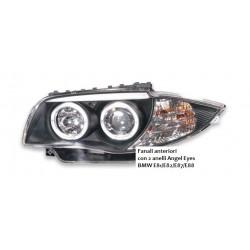 Fanali anteriori con 2 anelli Angel Eyes BMW E81/E82/E87/E88