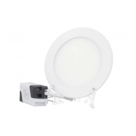 Faretto Pannello Led Da Incasso Rotondo 3W Bianco Caldo Diametro 85mm SKU-6292