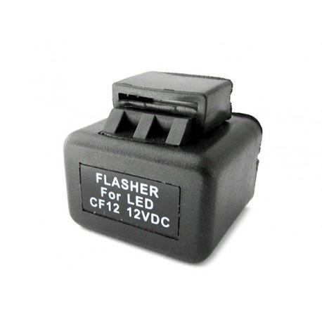 Flasher Led Lampeggiatore Rele Relay Per Frecce Led Moto e Auto Americane 12V 2 Spine CF12