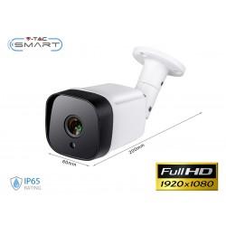 Telecamera di Videosorveglianza Da Parete Con Cavo Video BNC Per DVR IP65 Esterno AHD CVI TVI CVBS 1080P SKU-8475
