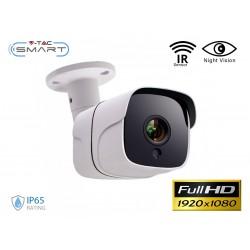 Telecamera di Videosorveglianza IP Camera LAN RJ45 IP65 Esterno Con Sensore IR Visione Notturna SKU-8478