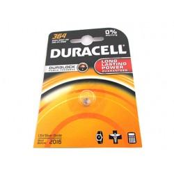 Pila Batteria A Bottone Duracell Silver Oxide 364 D364 SR6215W 280-34 SR60 1,5V Per Orologi Calcolatrice