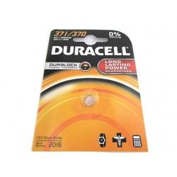 Pila Batteria A Bottone Duracell Silver Oxide 371 370 D371 SR9205W 280-31 SR69 1,5V Per Orologi Calcolatrice