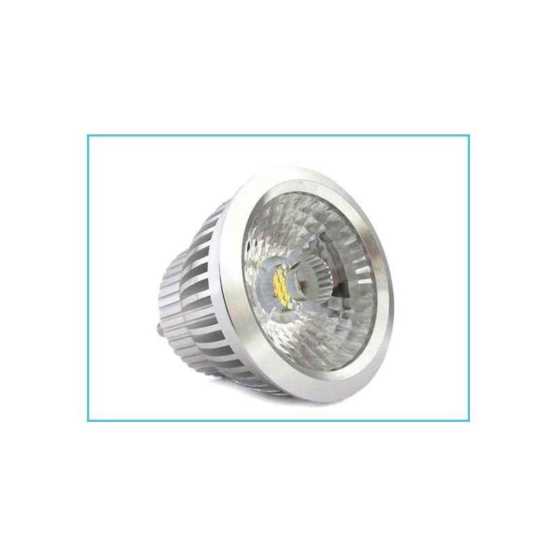 Lampada led gu10 dimmerabile triac dimmer cob 5w 220v for Lampada led gu10