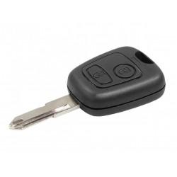 Chiave Telecomando Completa per Peugeot 206( 2003-2009 ) Transponder 46 PCF7961/434MHz  Ask 2 Tasti NE72