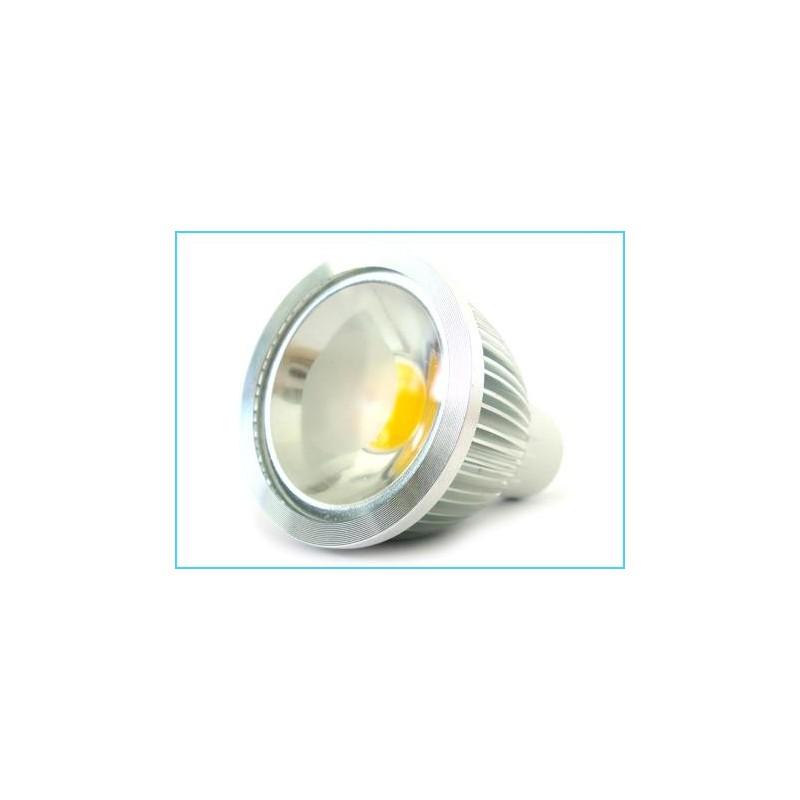 Lampada Faretto LED GU10 COB 220V 5W Bianco Freddo