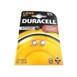 Pila Batteria Alkaline A Bottone Duracell LR44 A76 KA76 V13GA 1,5V Confezione Da 2 Pile