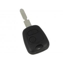 Guscio Chiave Telecomando 2 Tasti Con Lama NE78 Batteria Su Circuito Senza Transponder Per Peugeot 106 107 207 407 806 206 Citr