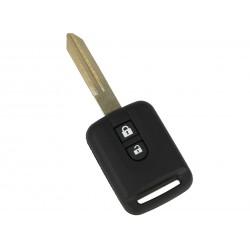 Guscio Chiave Telecomando 2 Tasti con Lama NSN14 Batteria Su Circuito Senza Transponder Per Nissan Micra Qashqai Note Juke Pixo