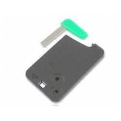 Chiave Telecomando Completa Smart key Card per Renault Vel Satis (2002-2005) Laguna 2 (2002-2008) Espace (2002-2010) Transponde