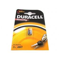 Pila Batteria Duracell Alkaline MN11 E11A Security 6V Per Dispositivi di Sicurezza Telecomando Auto