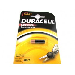 Pila Batteria Duracell Alkaline MN27 Security 12V Per Dispositivi di Sicurezza Telecomando Auto