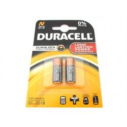 Pila Batteria Duracell Alkaline MN9100 LRI/KN 1,5V Duralock Confezione Da 2 Pile