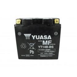 Batteria Moto YUASA YT14B-BS Precaricata Sigillata 12V 12Ah 210A