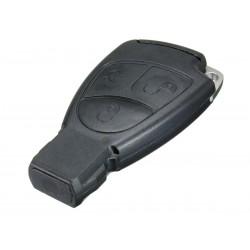 Guscio Chiave Telecomando 3 Tasti con Lama HU64 Batteria In Custodia Senza Transponder Per Mercedes Benz Classe A B C E CLK SLK