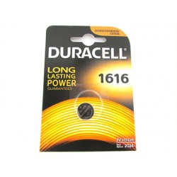 Pila Batteria Lithium A Bottone Duracell Litio 1616 DL1616 CR1616 BR1616 3V
