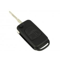 Guscio Chiave Telecomando 3 Tasti con Lama HU64 Batteria In Custodia Senza Transponder Per Mercedes Benz Ml C Cl S Classe