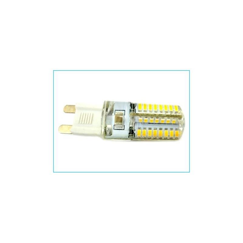 Lampada led g9 64 smd 3014 220v 3 5w 360 con silicone for Lampade a led 220v
