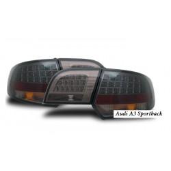 Fanali posteriori LED Audi A3 Sportback nero