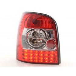 Audi A4 Avant tipo B5 95 a 00 chiaro rosso