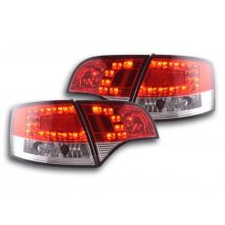 Audi A4 LED  04 a 07 rosso chiaro