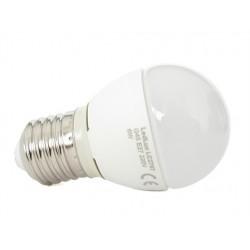 Lampada A Led E27 G45 6W Bianco Caldo Forma Sfera Bulbo Palla 240 Gradi 220V SKU-174