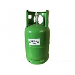 Bombola Gas Refrigerante R410A Da 12L 10KG Netti Ricaricabile Per Climatizzatori Condizionatori