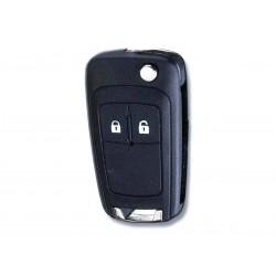 Chiave Telecomando Completa con Scheda Elettronica e Circuito 2 Tasti compatibile 13574868 13279279 per Chevrolet Opel  Zafira
