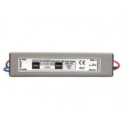 Trasformatore Led Driver CC Impermeabile IP67 600mA 30-50VDC (10-15)X3W Alimentatore Corrente Costante