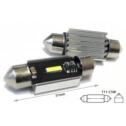 Lampadina Led Siluro Canbus Pro 31mm 1 Smd 1860 Da 5W No Errore 12V No Polarita Super Luminoso