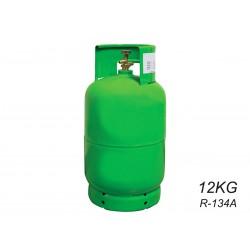 Bombola Gas Refrigerante R134a R-134a Da 12KG Netti Ricaricabile Per Climatizzatori Auto Bombola Verde