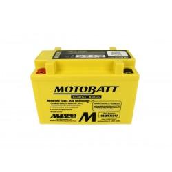 Batteria Moto MOTOBATT MBTX9U 12V 10,5Ah CCA 160 Compatibile Yuasa YTX9-BS YT12A-BS YTZ12S YTZ12S-BS