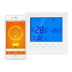 Termostato Digitale Per Caldaia A Gas Murale Da Parete Riscaldamento Termosifone Ad Acqua WiFi Compatibile Con Amazon Alexa Ech