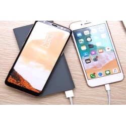 Power Bank Caricabatterie Wireless Veloce Grigio Caricatore QI per iPhone 8 iPhone 8plus iPhone X iPhone XL Samsung S6 S6 edge