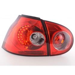 Golf 5 posteriori LED da 03 a 08 rosso