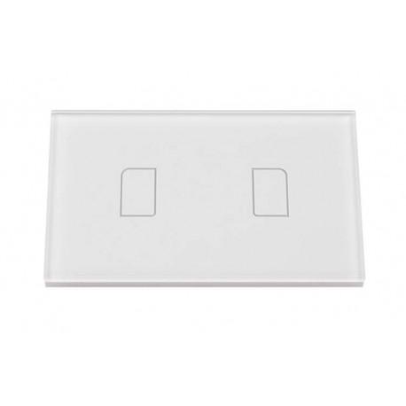Touch Panel Controller Interruttore Smart Home Domotico Per Scatola 503 Con 2 Posizioni Wireless Design Moderno