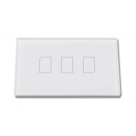 Touch Panel Controller Interruttore Smart Home Domotico Per Scatola 503 Con 3 Posizioni Wireless RF433MHz