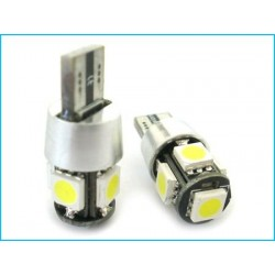 Lampada Led Canbus T10 W5W 5 SMD
