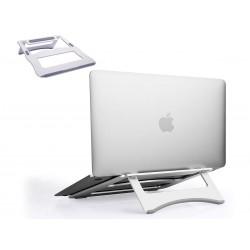 Supporto In Alluminio Per Notebook PC Portatile Laptop Pieghevole Design Ergonomico Stabile