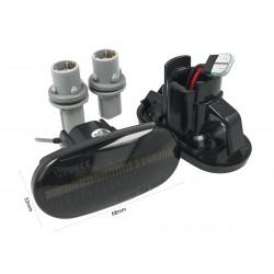 Kit Freccia Laterale a Led Side Marker Dinamica Lente Fume Per Honda Civic Del Sol S2000 Acura Integra