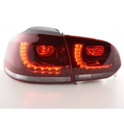 Golf 6 posteriori LED rosso/chiaro look GTI