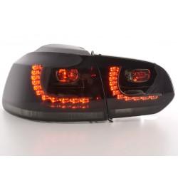 Golf 6 posteriori LED nero look GTI