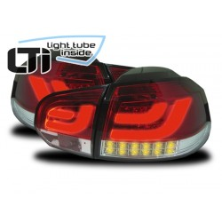Fanali posteriori LTI VW Golf 6 con indicatori LED