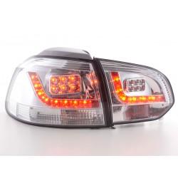 Golf 6 posteriori LED cromato