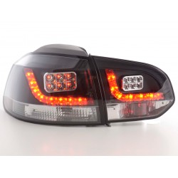 Golf 6 posteriori LED nero